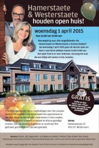 Open huis woonzorgcomplex Hamerstaete,Westerstaete