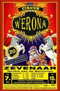 Circus Werona komt naar Zevenaar