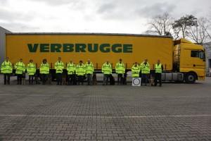 Zoekhonden menselijk geur gesponsord door Verbrugge transport