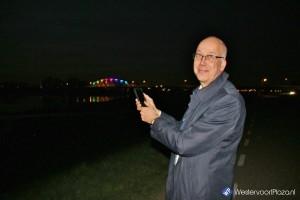 Westervoortse brug verlicht van 11 april tot 10 mei