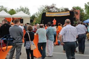 Feest bij Wieleman en 'T Hoge End tijdens Koningsdag